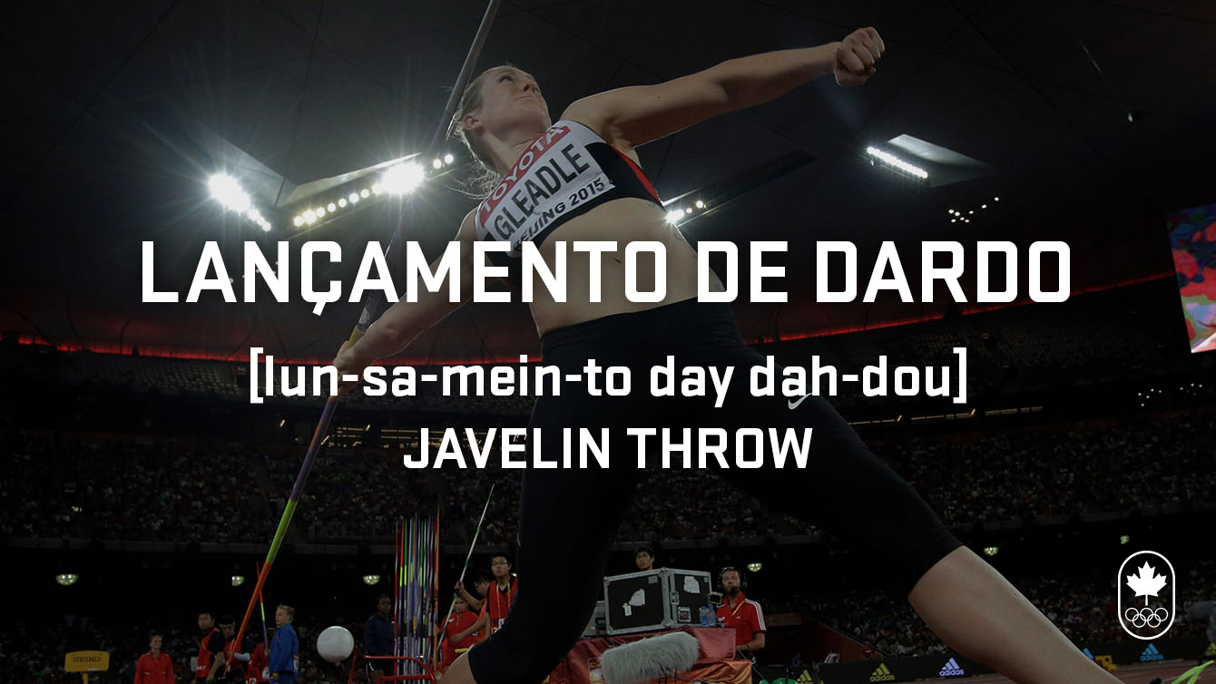 Javelin throw (lançamento de dared), Carioca Crash Course, athletics edition