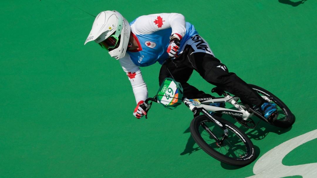 Rio 2016: Tory Nyhaug (BMX)