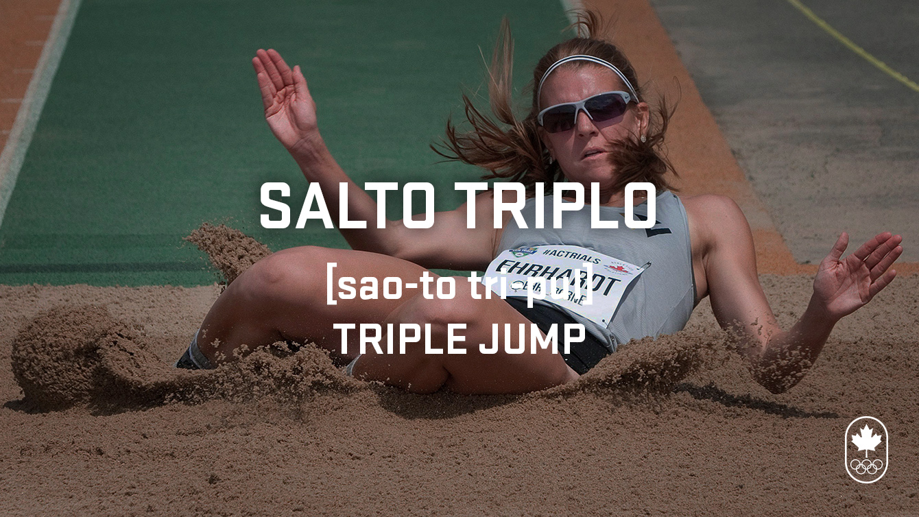 triple jump (salto triplo), Carioca Crash Course - Athletics edition