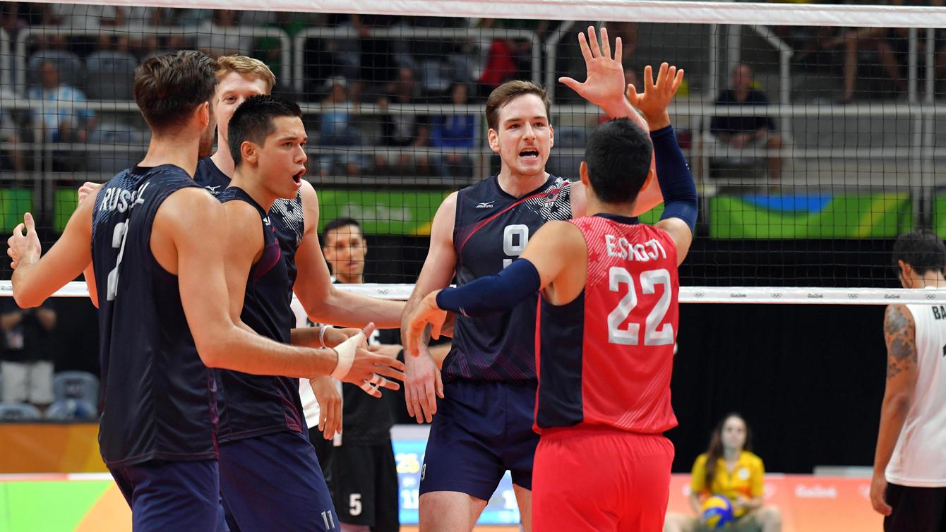 Rio 2016: USA vs Mexico, men's volleyball