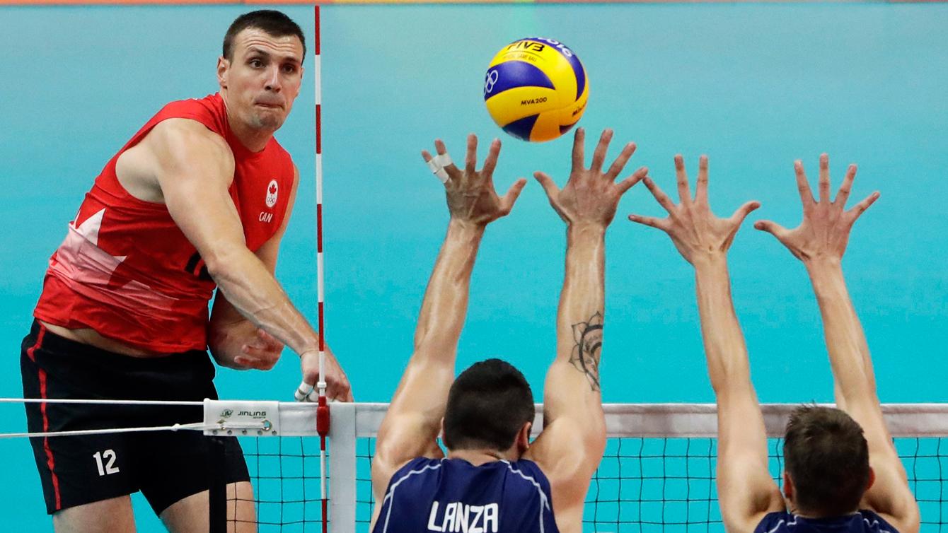 Rio 2016: Gavin Schmitt, volleyball