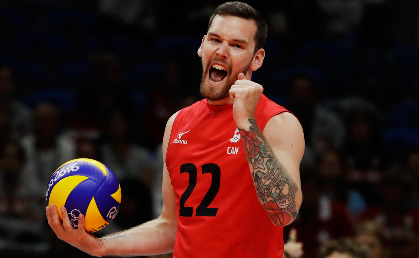 Rio 2016: Steve Marshall, volleyball
