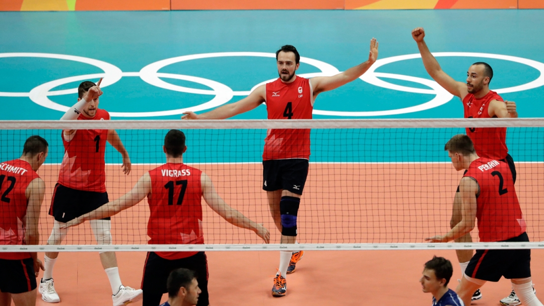 Rio 2016: Nicholas Hoag, volleyball