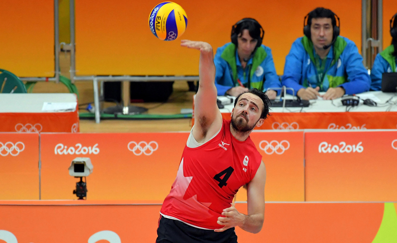 Rio 2016: Nicholas Hoag, men's volleyball