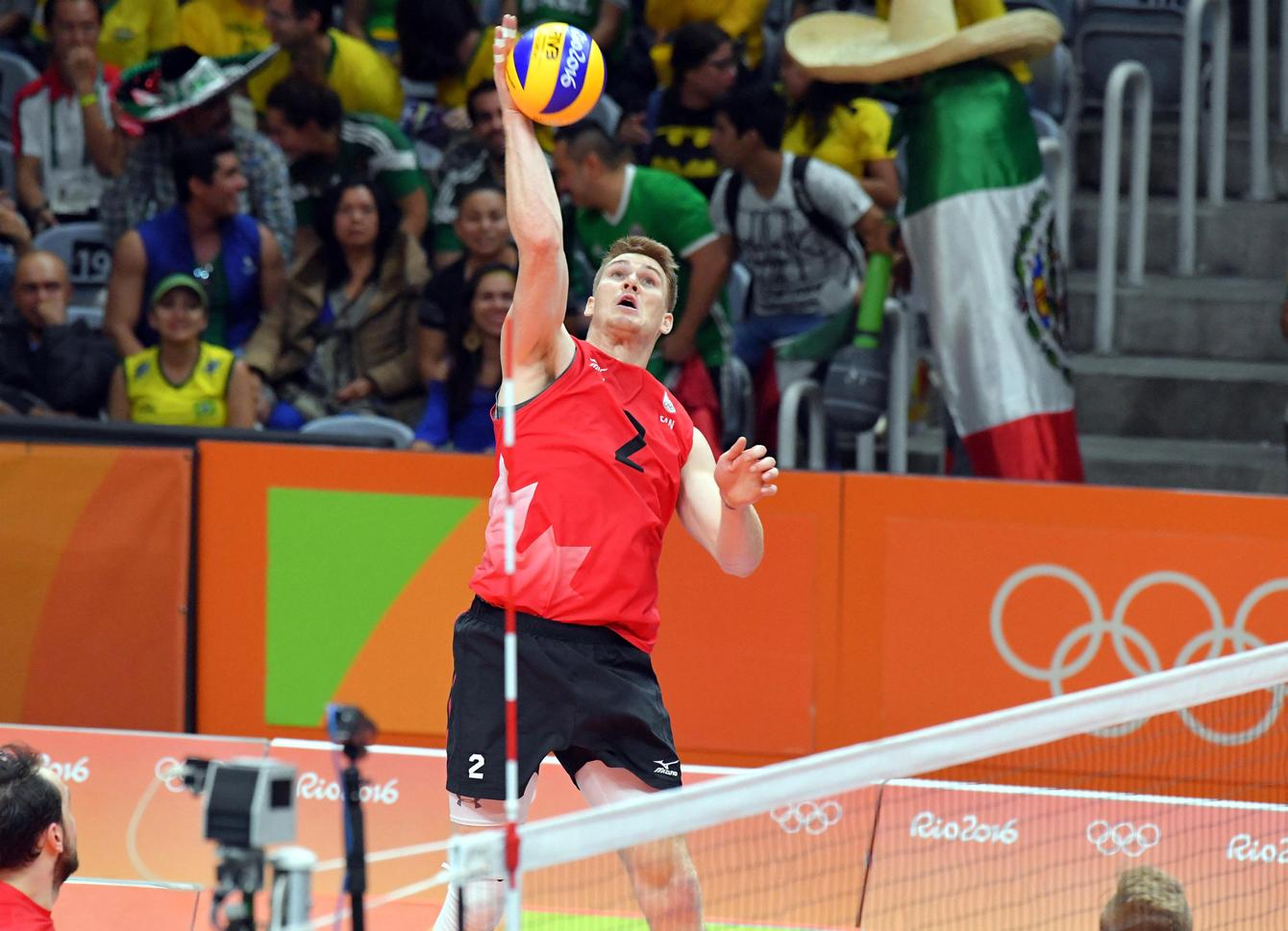 Rio 2016: Gordon Perrin, men's volleyball
