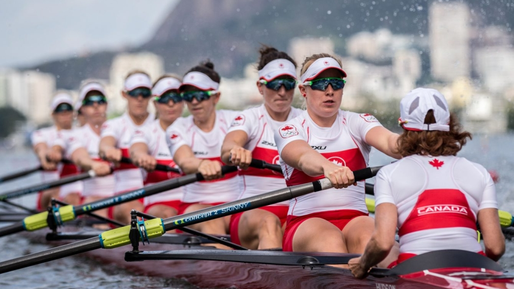 Team Canada's women's rowing team