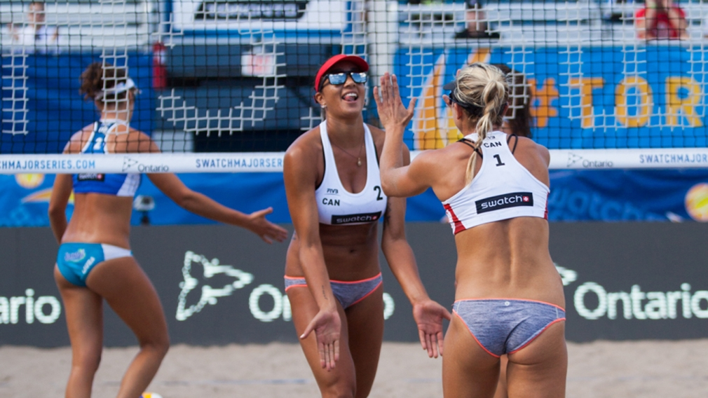 Bansley and Wilkerson win first pool match of FIVB World Tour Finals