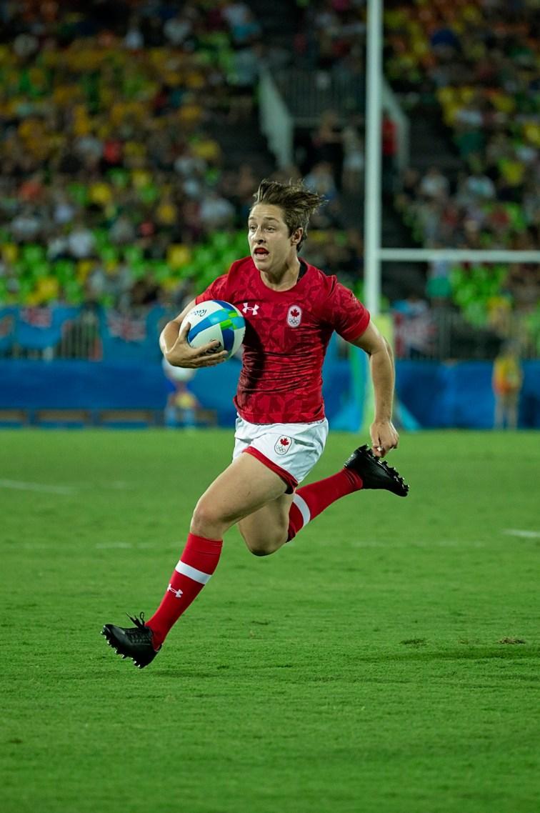Ghislaine Landry in action at Rio 2016 (Photo: Paige Stewart).