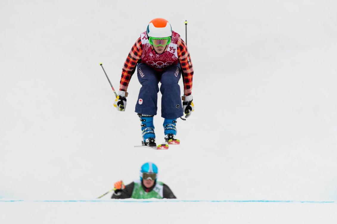 Georgia Simmerling at Sochi 2014. COC Photo by Jason Ransom