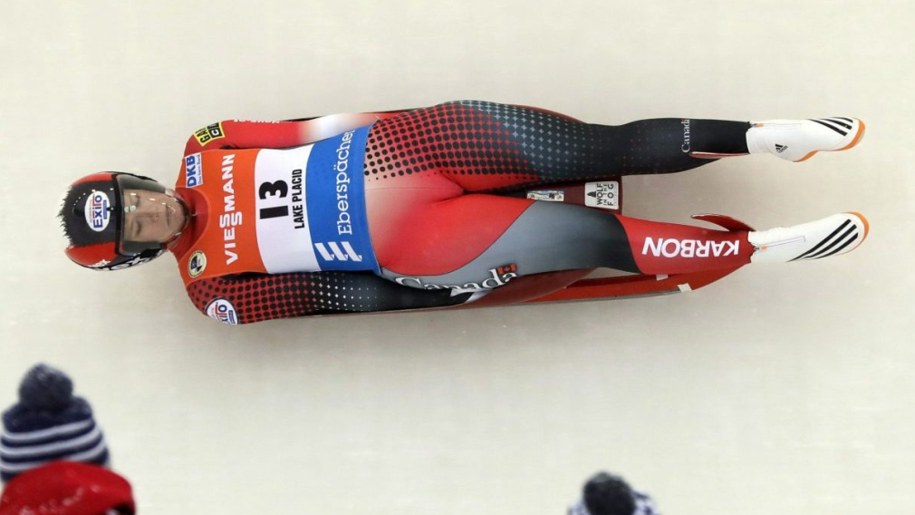 Gough stands on third straight luge World Cup podium