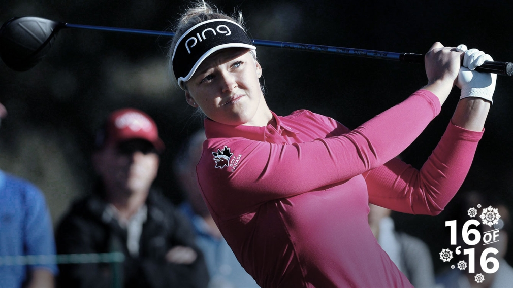 16 of '16: Brooke Henderson shines in first full LPGA year