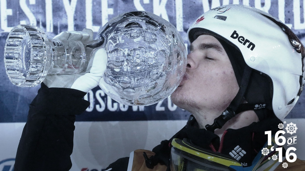 16 of '16: Mikaël Kingsbury wins fifth straight Crystal Globe
