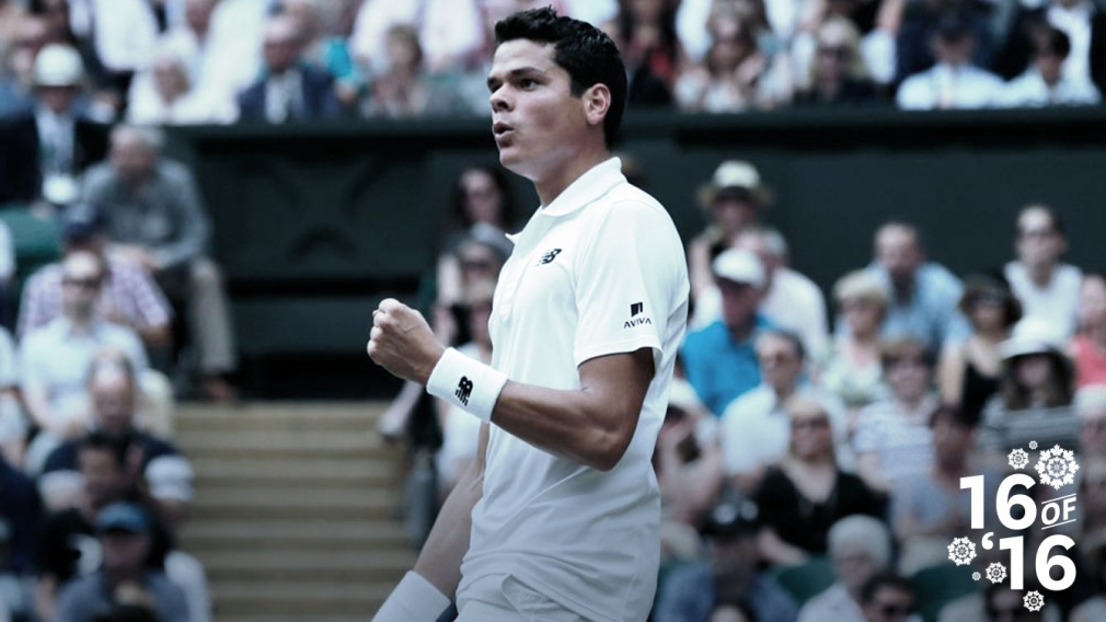 16 of '16: Milos Raonic reaches Wimbledon final and third in the world