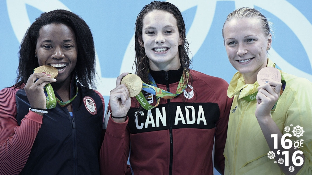 16 of '16: Oleksiak peaks twice to become a swimming superstar
