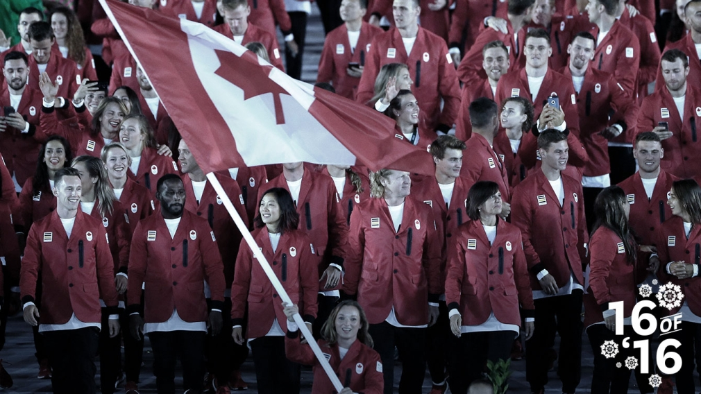 16 of '16: Team Canada amazes at Rio 2016
