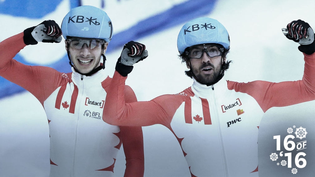 16 of '16: Canada leads short track Worlds' medal count
