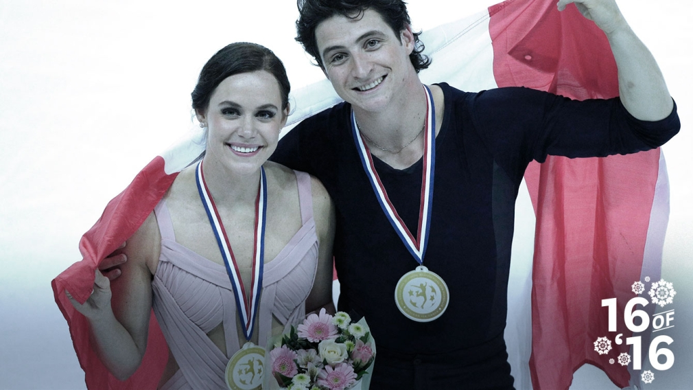 16 of '16: Virtue and Moir triumphant in competitive comeback