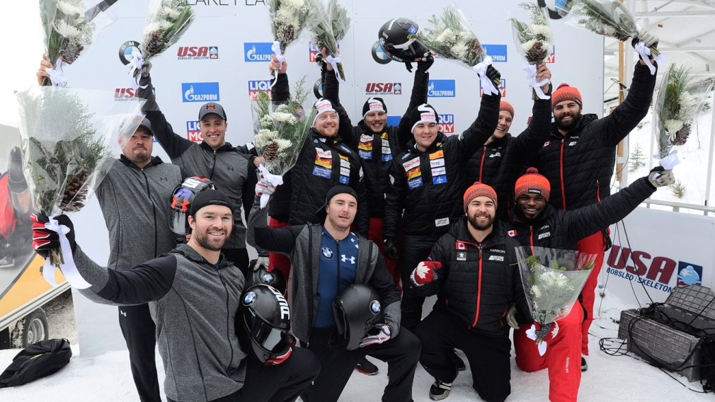 Spring steers Canada to its fourth bobsleigh medal in Lake Placid