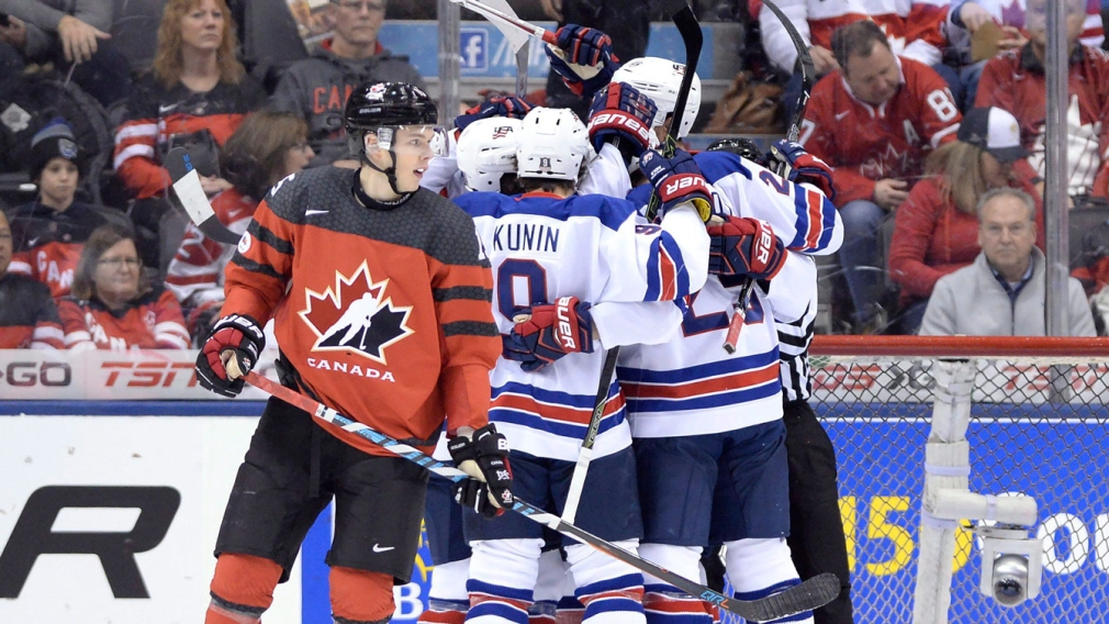 USA hands Canada first World Juniors loss ahead of quarterfinals