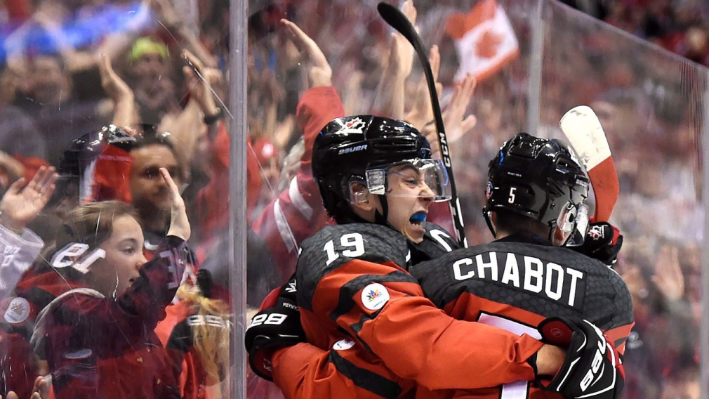 Strome scores two as Canada opens World Juniors with win over Russia