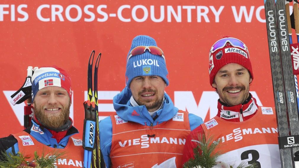 Harvey hits first World Cup podium of season during Tour de Ski