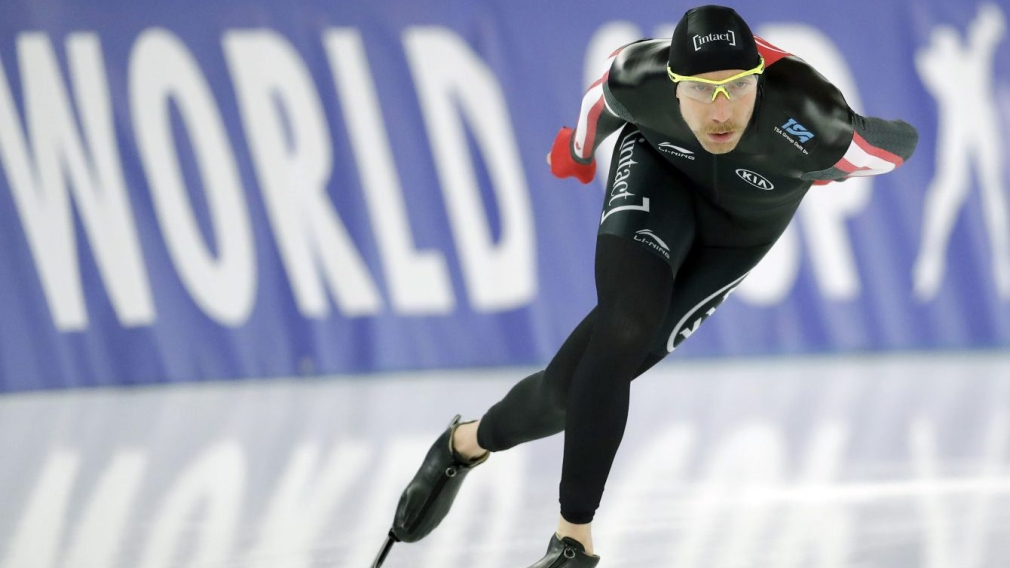 Team Canada - Ted-Jan Bloemen Germany Speed Skating World Cup