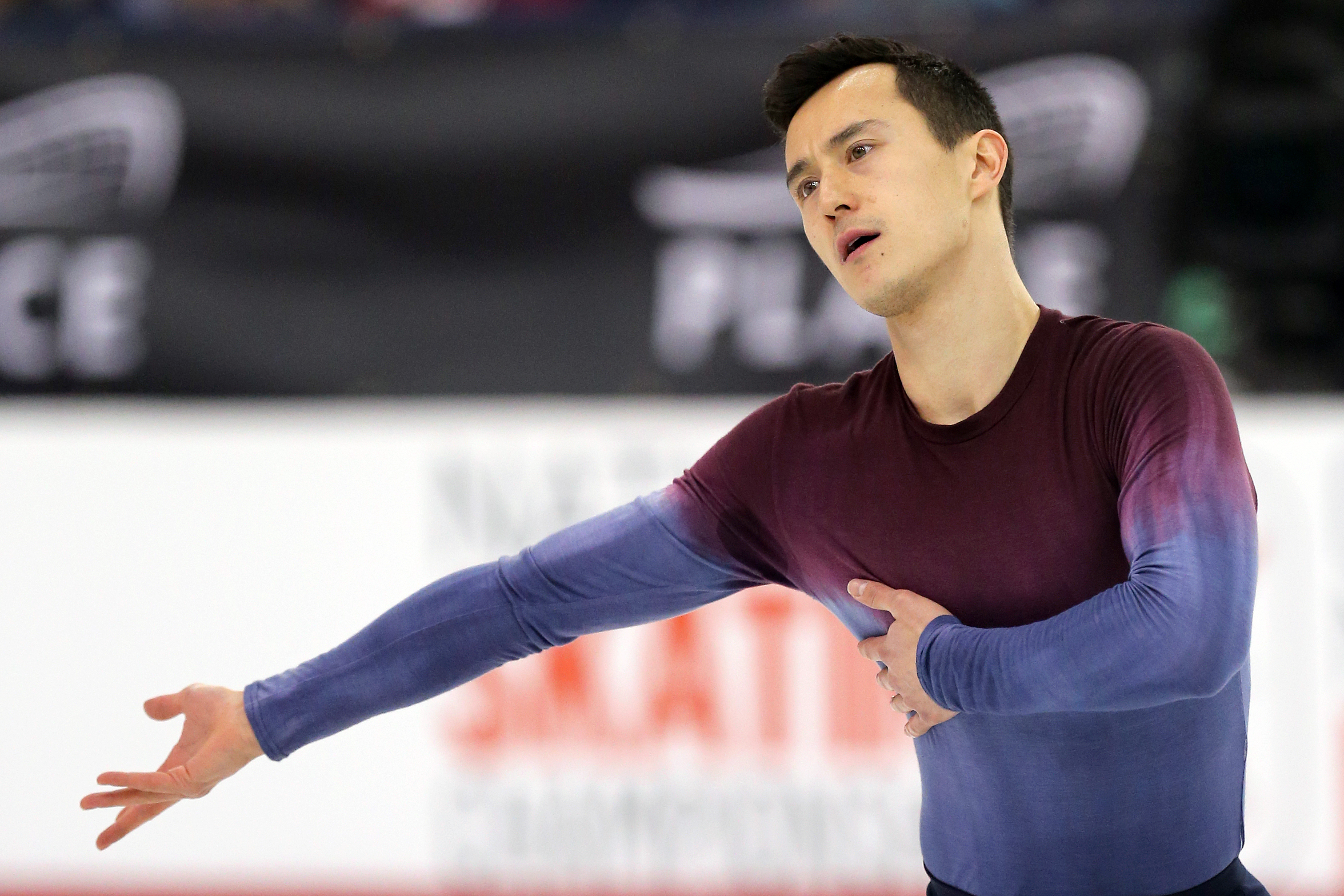 Patrick Chan competes in the mens free skate at the Canadian Tire National Skating Championships, January, 21, 2017 PHOTO: Greg Kolz