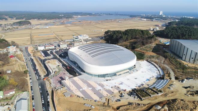 Gangneung Ice Arena - PyeongChang 2018 Venue