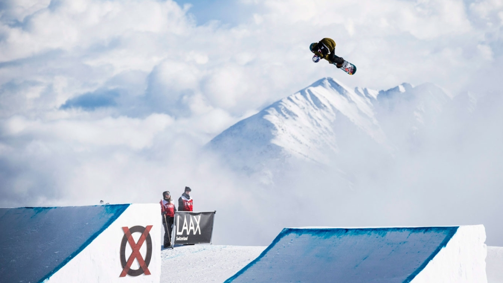 Canada dominates as Parrot leads slopestyle sweep at LAAX