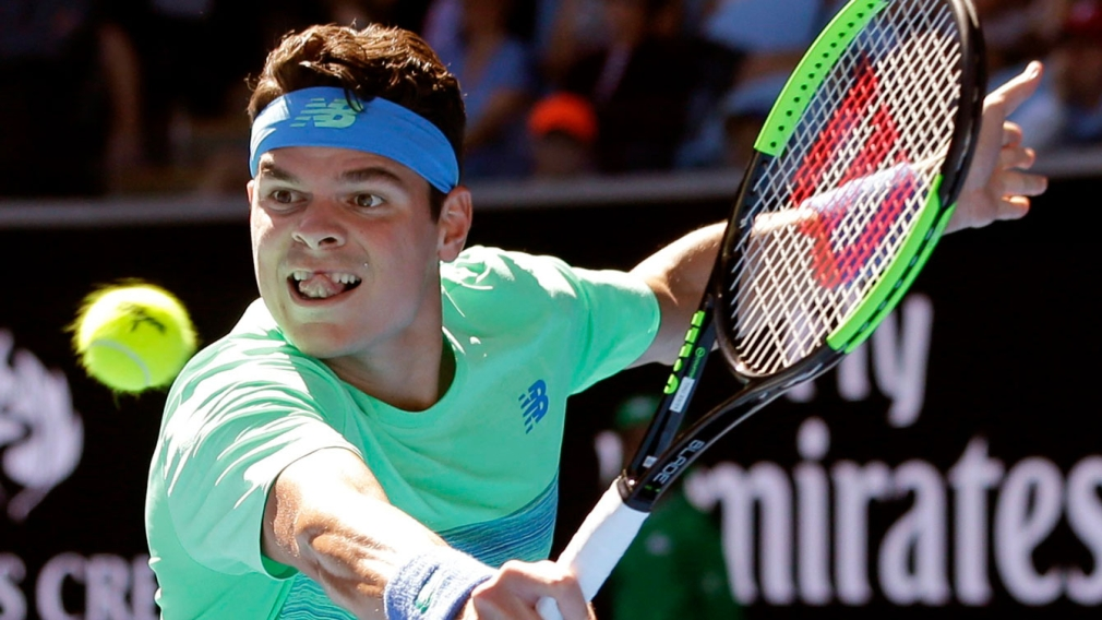 Another victory sends Raonic into the Australian Open third round