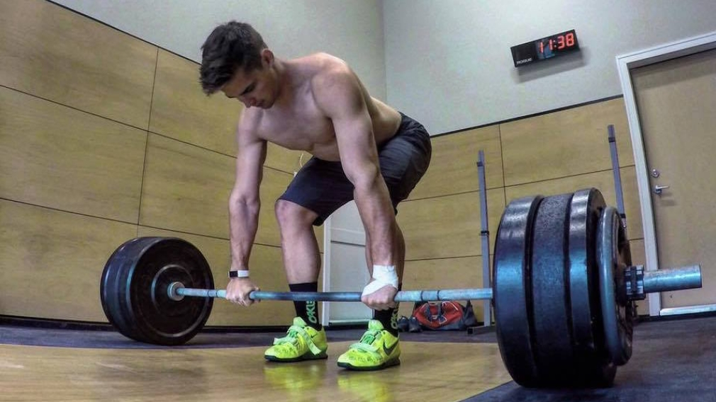 Training with Team Canada: Olympic Lifts