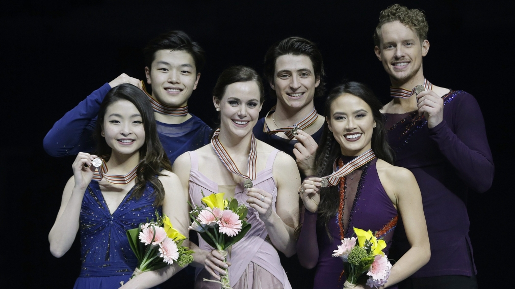 Virtue and Moir golden once again at Four Continents Championships