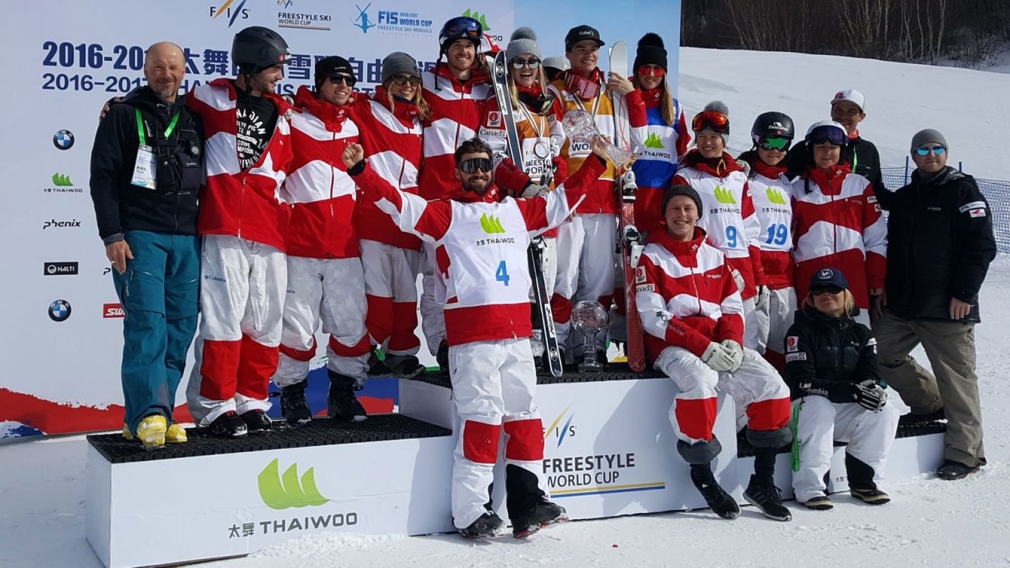 Kingsbury claims sixth Crystal Globe; Canada wins Nations Cup