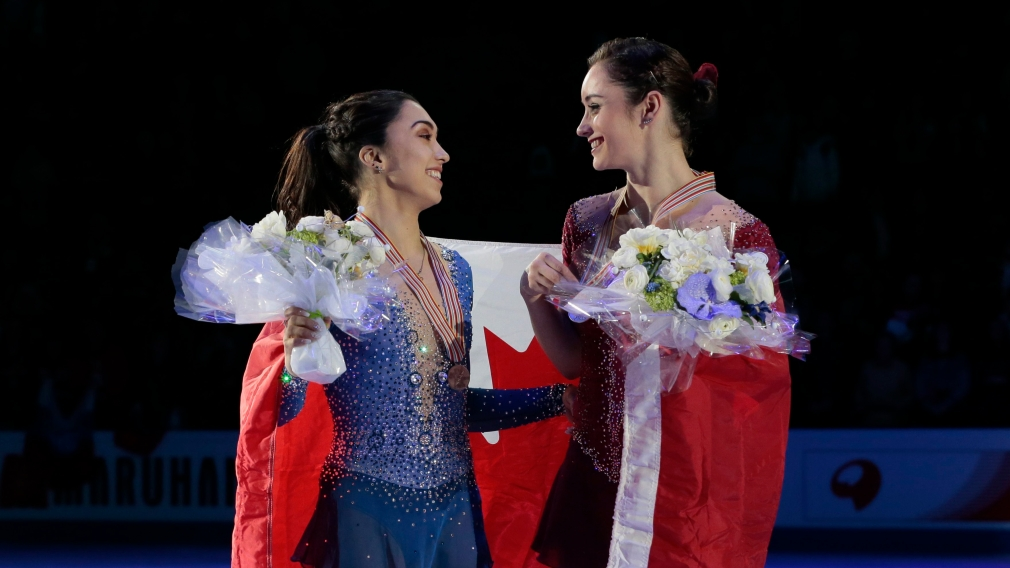 Historic double podium for Osmond and Daleman at figure skating worlds