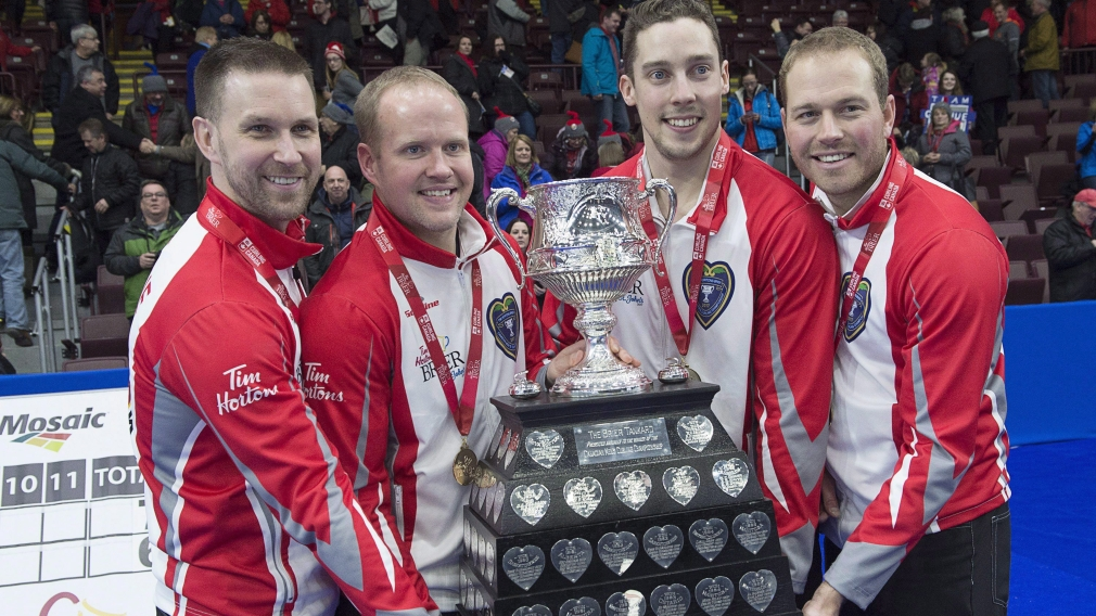 Team Gushue confident heading into men's world curling championship