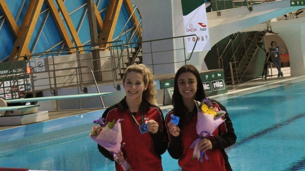 Canadians score three World Series diving medals in Kazan