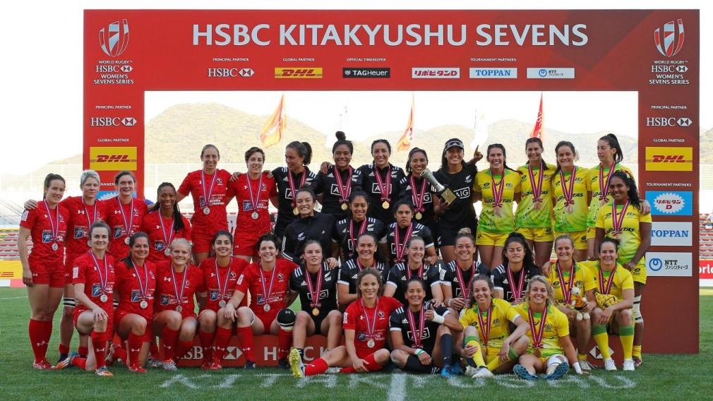 Canadian women's sevens claim silver in Kitakyushu