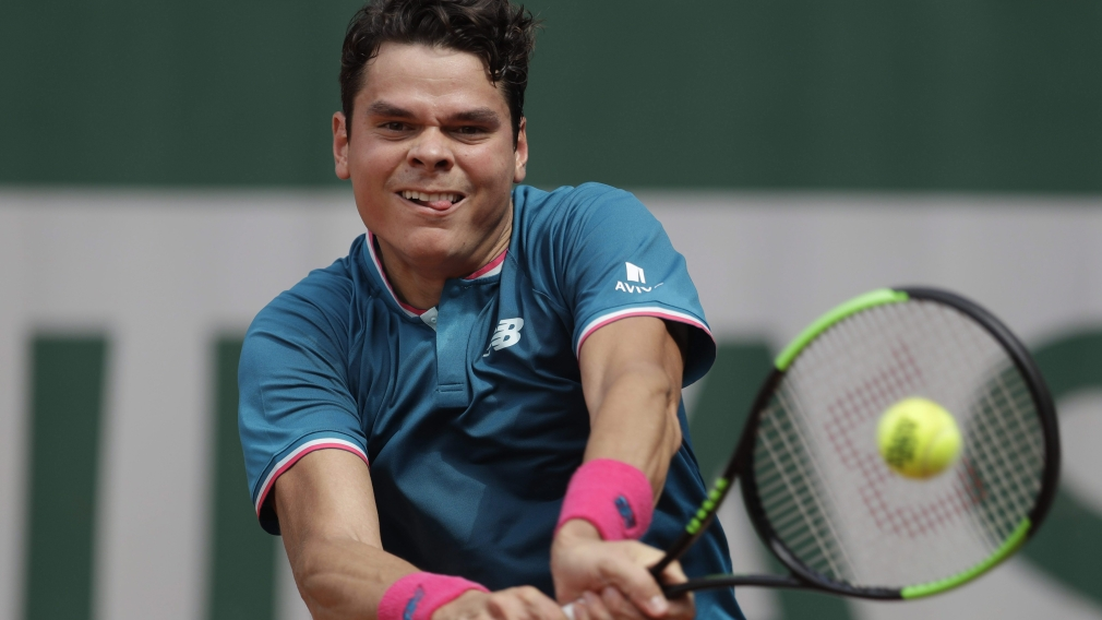 Raonic and Abanda open with wins at 2017 French Open