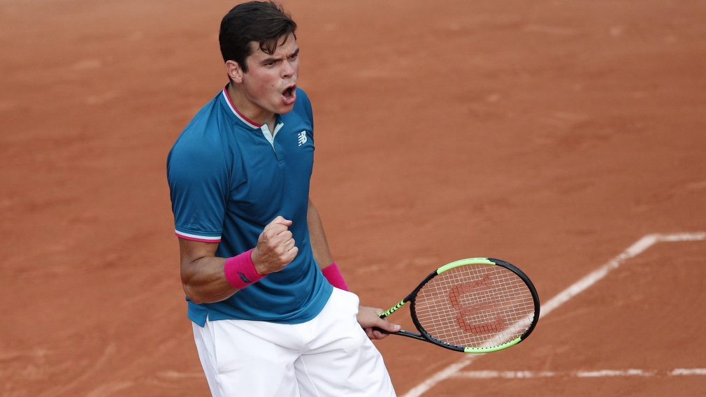 Raonic advances to third round of 2017 French Open