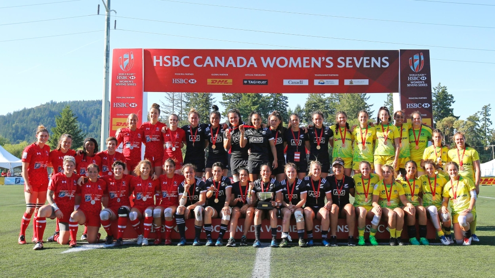 Rugby sevens women claim Canada Sevens silver in Langford