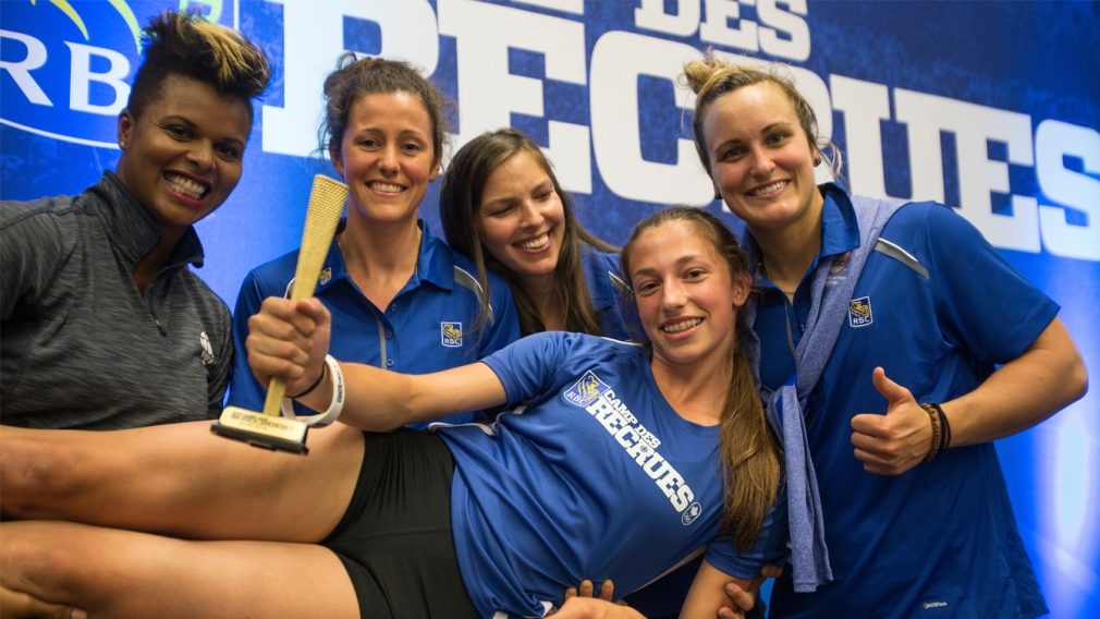 RBC Training Ground identifies five more athletes with Olympic potential
