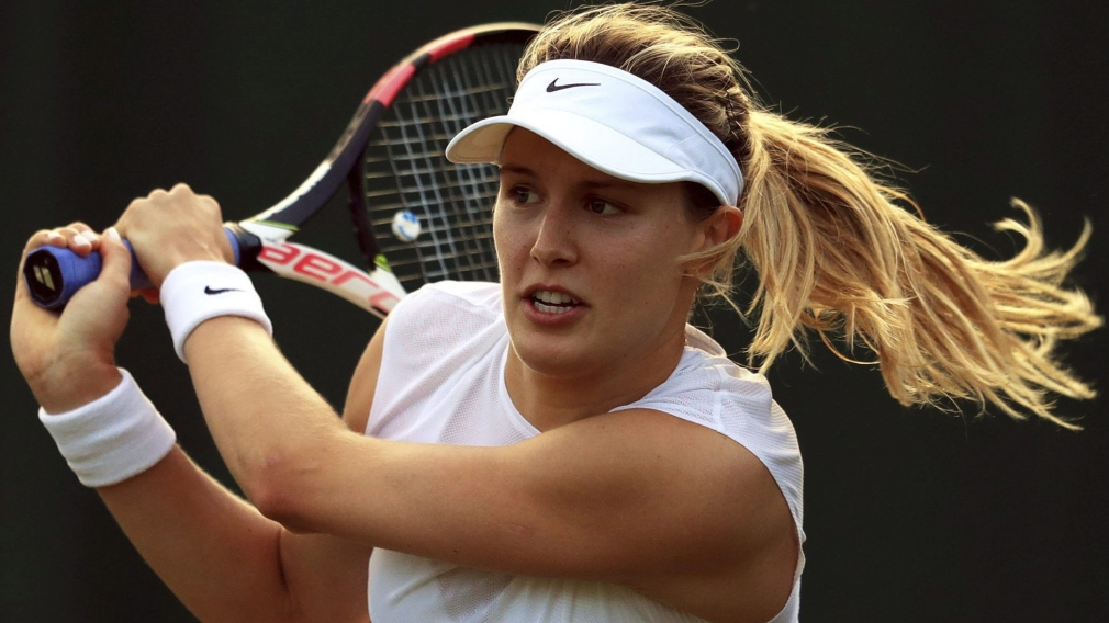 Eugenie Bouchard starts French Open play with a win