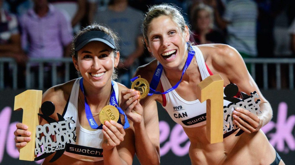 Canada's beach volleyball stars ride recent success into world championships