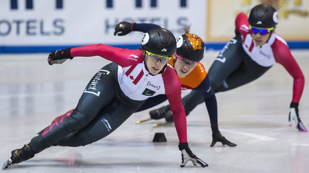 Short track speed skaters hit the ice for a place in PyeongChang
