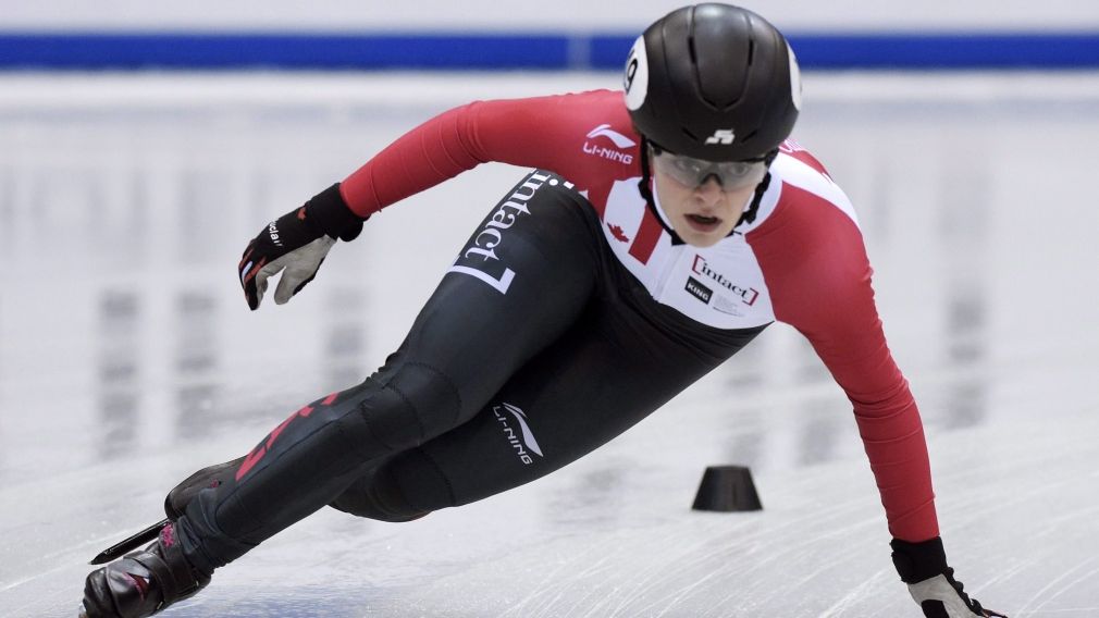 Silver start for Team Canada at first short track World Cup of Olympic season