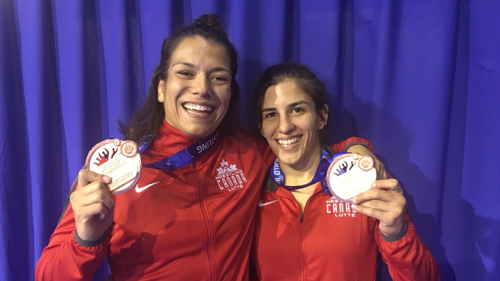 Fazzari and Di Stasio wrestle to world championships bronze medals