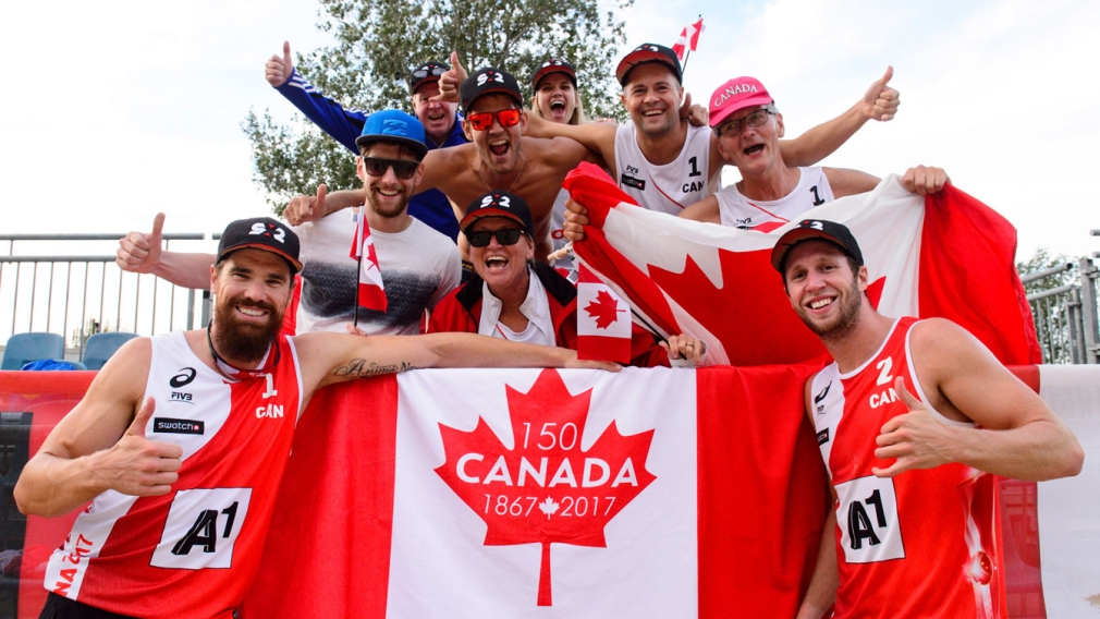 Beach Volleyball: Canadian men join women in elimination rounds at worlds