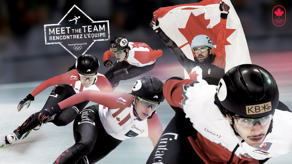 10 short track speed skaters nominated to Team Canada for PyeongChang 2018
