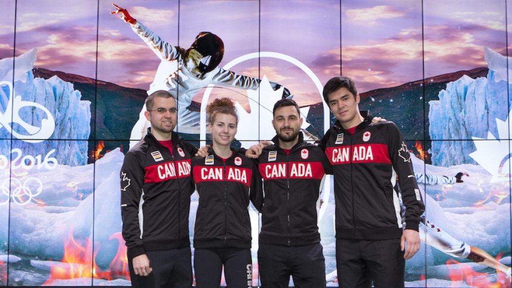 Canadian fencing team nominated for Rio 2016