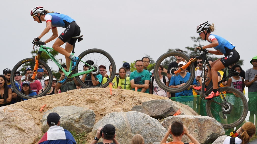 Canadian mountain bikers set to battle for rainbow jersey at world championships